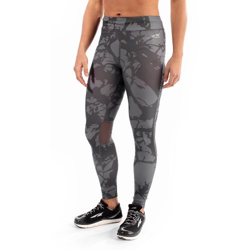 Womens Altra Performance Full Tights & Leggings Pants - Grey M