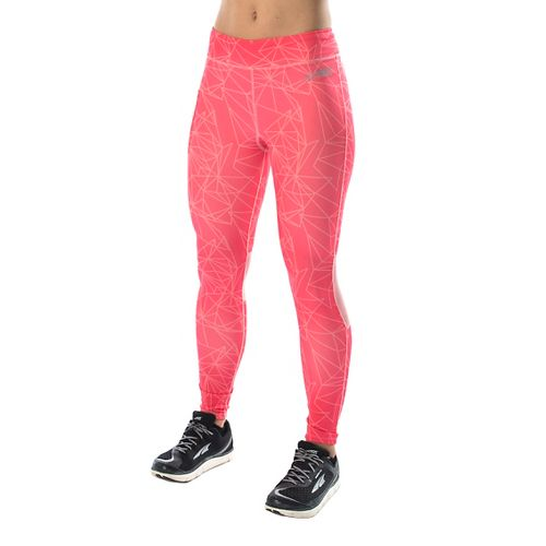 Womens Altra Performance Full Tights & Leggings Pants - Pink L