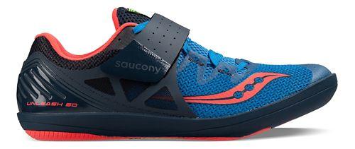 Mens Saucony  Unleash SD2 Racing Shoe - Pink/Purple 7.5