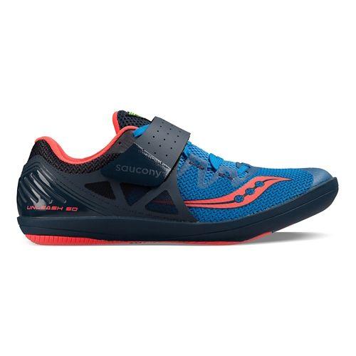 Mens Saucony  Unleash SD2 Racing Shoe - Pink/Purple 12.5