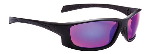 One Castline Polarized Sport Sunglasses - Matte Black