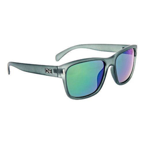 One Kingston Polarized Sunglasses - Matte Crystal Grey