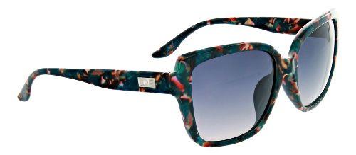 Womens One Kumari Polarized Sunglasses - Teal/Wildflowers
