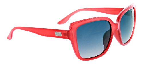 Womens One Kumari Polarized Sunglasses - Shiny Crystal Red