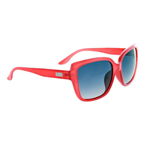 Womens One Kumari Polarized Sunglasses - Shiny Crystal Red