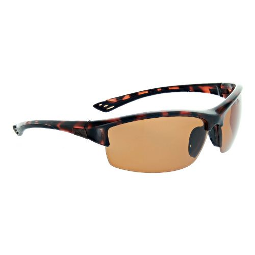 One Mauzer Polarized Sport Sunglasses - Shiny Dark Demi