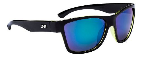 One Spektor Polarized Sunglasses - Crystal Green/Black