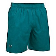 """Mens Under Armour Launch SW 7"""" Printed Lined Shorts"""