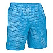 "Mens Under Armour Launch SW 7"" Printed Lined Shorts"