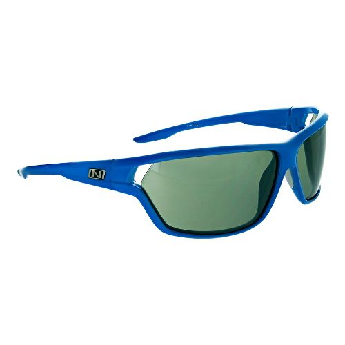 Optic Nerve Dedisse Sunglasses - Shiny Blue