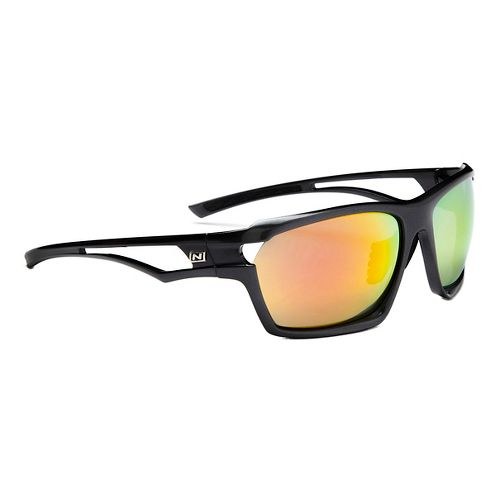 Optic Nerve Variant Sunglasses - Shiny Carbon