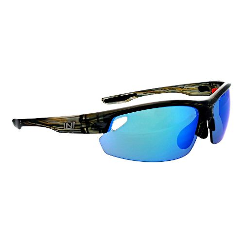 Optic Nerve Desoto Flip Off Sunglasses - Driftwood Ocean