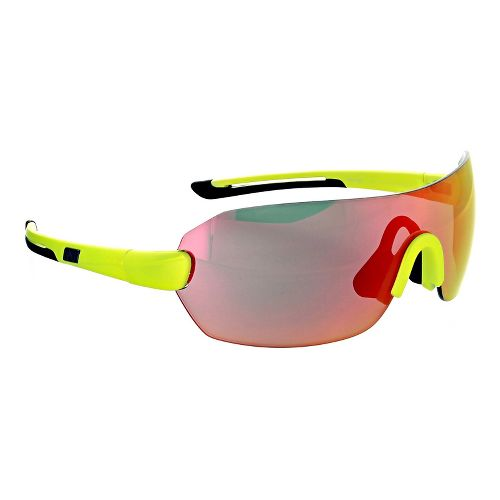 Optic Nerve Overcast Flip Off Sunglasses - Aluminium Green