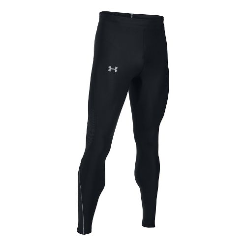 Mens Under Armour No Breaks HeatGear Novelty Tights & Leggings Pants - Black S