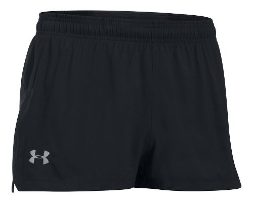 Mens Under Armour Launch SW Splits Shorts - Black XL