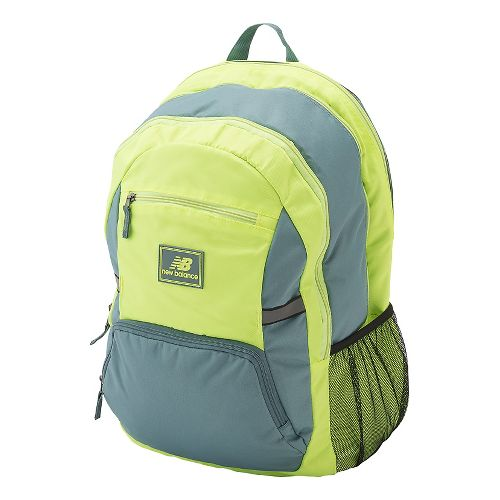 New Balance Accelerator Backpack Bags - Lime Glo OS