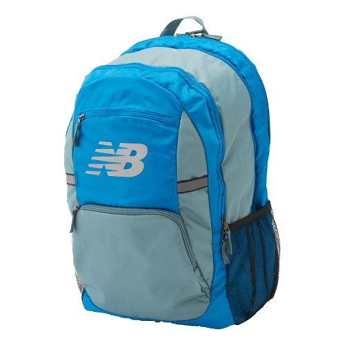 New Balance Accelerator Backpack Bags - Electric Blue OS