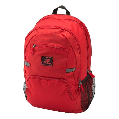 New Balance Accelerator Backpack Bags - Team Red OS