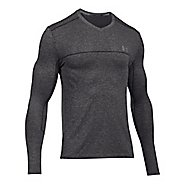 Mens Under Armour Threadborne Seamless Run Long Sleeve Technical Tops