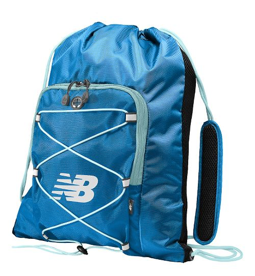 New Balance Media Cinch Sack Bags - Electric Blue OS
