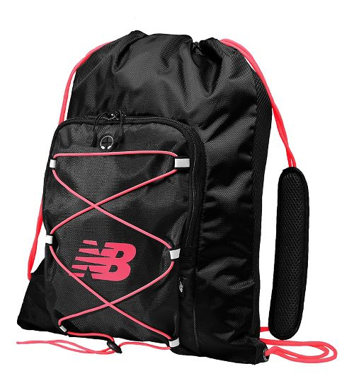 New Balance Media Cinch Sack Bags - Pomegranate OS