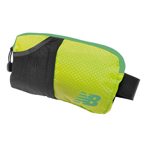 New Balance Performance Waistpack Bags - Lime Glo OS
