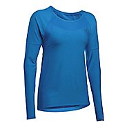 Womens Under Armour Sport Twist Long Sleeve Technical Tops