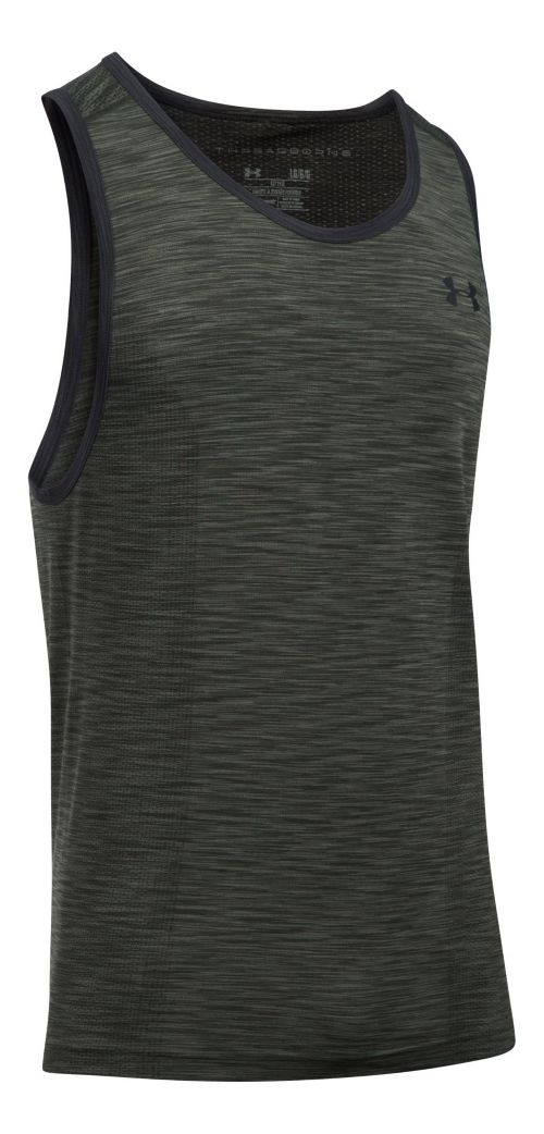 Mens Under Armour Threadborne Seamless Sleeveless & Tank Tops Technical Tops - Downtown ...