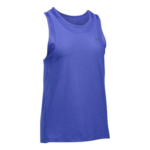 Womens Under Armour Sport Muscle- Twist Sleeveless & Tank Tops Technical Tops - Constellation ...