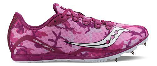 Womens Saucony Vendetta Racing Shoe - Pink/Purple 5
