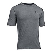 Mens Under Armour Threadborne Short Sleeve Technical Tops