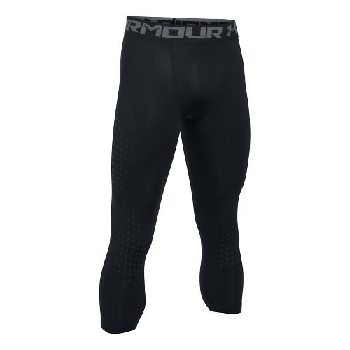 Mens Under Armour HeatGear Armour Coolswitch 3/4 Tights & Leggings Pants - Black L