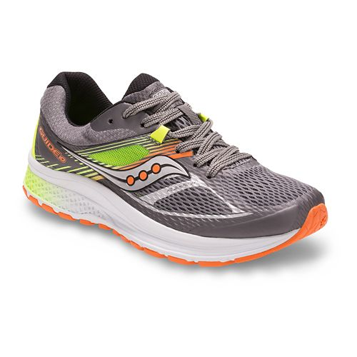Kids Saucony Guide 10 Running Shoe - Grey/Multi 2Y