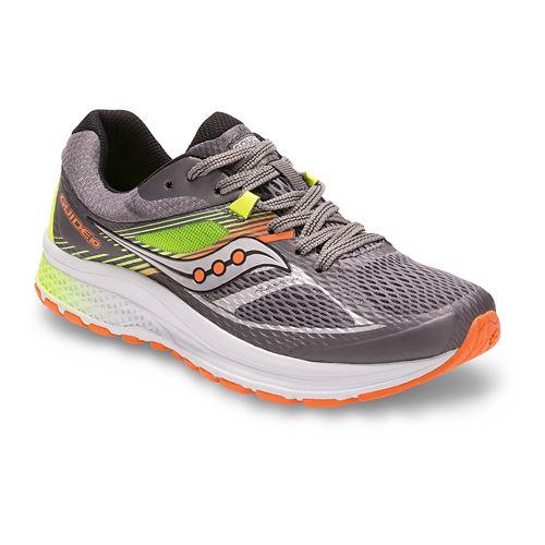 Saucony Guide 10 Running Shoe - Grey/Multi 4.5Y