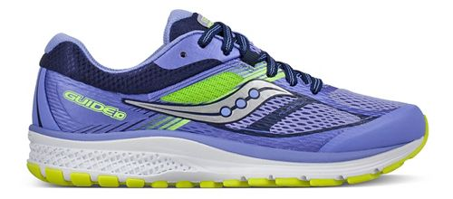 Kids Saucony Guide 10 Running Shoe - Purple/Blue 2.5Y
