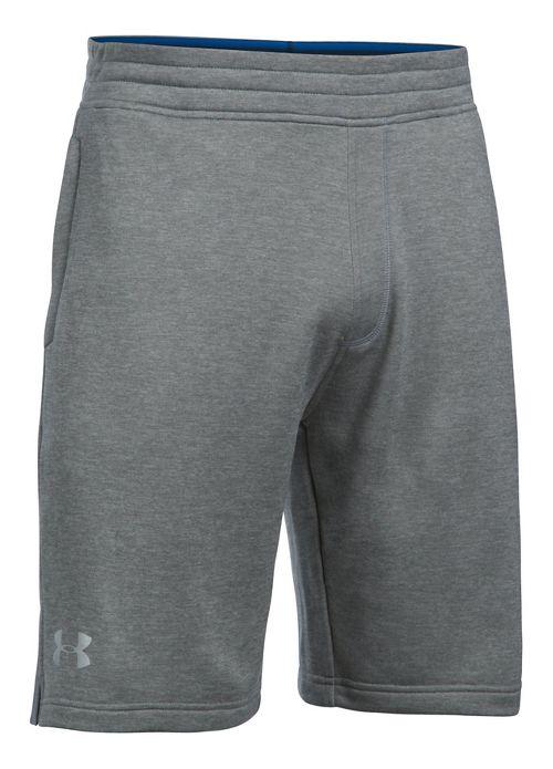 Mens Under Armour Tech Terry Unlined Shorts - Blackout Navy XXL