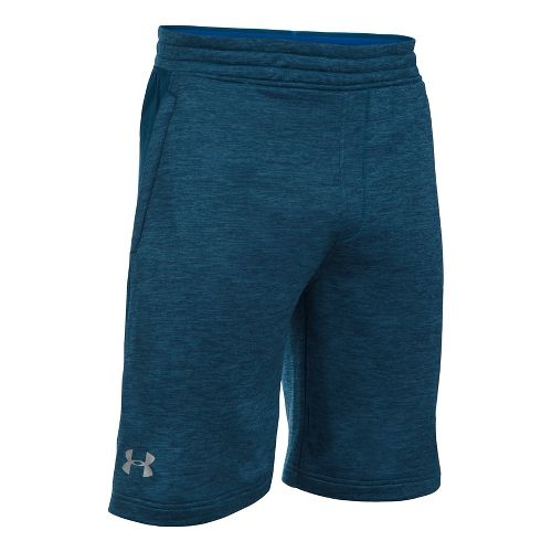 Mens Under Armour Tech Terry Unlined Shorts - Blackout Navy XXL