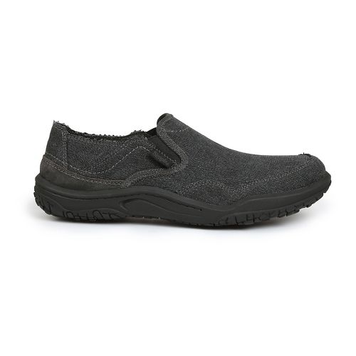 Mens Simple Centric Casual Shoe - Black Wash 10.5