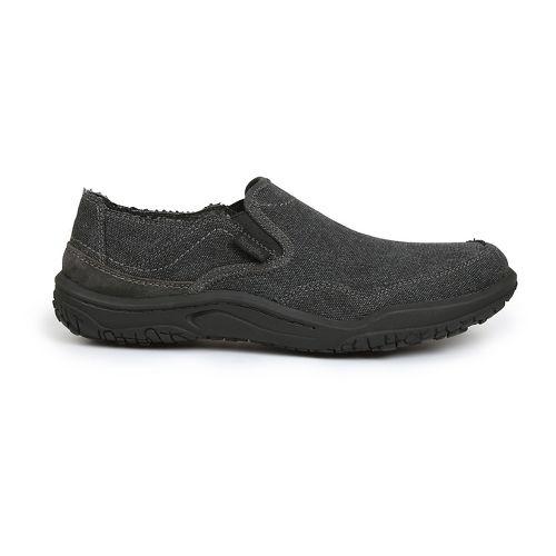 Mens Simple Centric Casual Shoe - Black Wash 7.5