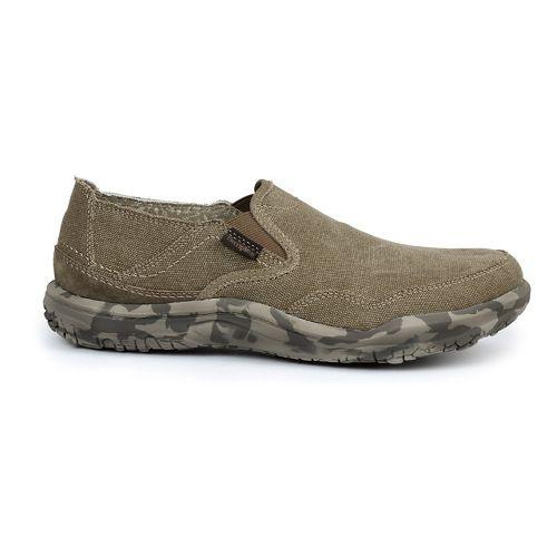Mens Simple Centric Casual Shoe - Dark Natural Wash 11