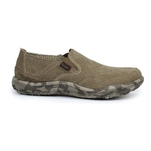 Mens Simple Centric Casual Shoe - Dark Natural Wash 13