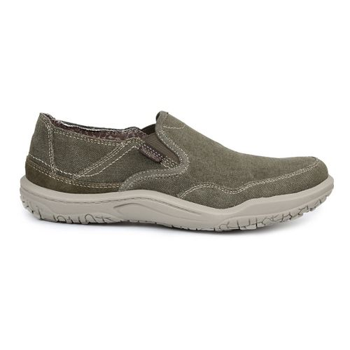 Mens Simple Centric Casual Shoe - Olive Wash 8
