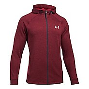 Mens Under Armour Tech Terry Full Zip Half-Zips & Hoodies Technical Tops