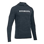 Mens Under Armour Tech Terry Long Sleeve Half-Zips & Hoodies Technical Tops