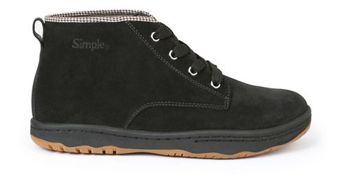 Mens Simple Barney-91 Casual Shoe - Black 9
