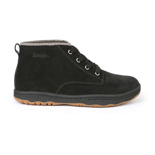 Mens Simple Barney-91 Casual Shoe - Black 13
