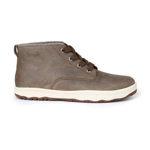 Mens Simple Barney-91 Casual Shoe - Flint 12