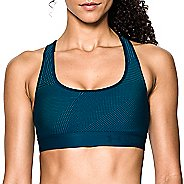 Womens Under Armour Crossback Embossed Elastic Sports Bras