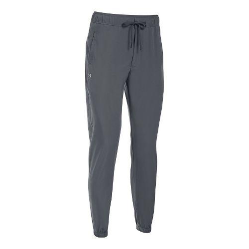 Womens Under Armour Easy Training Pants - Rhyno Grey L