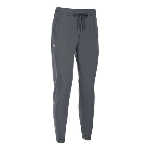 Womens Under Armour Easy Training Pants - Rhyno Grey XS